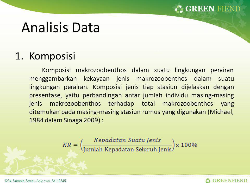 Analisis Data Komposisi