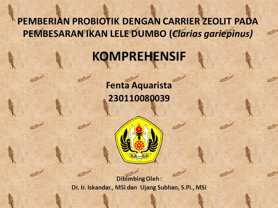Dr. Ir. Iskandar., MSi dan Ujang Subhan, S.Pi., MSi