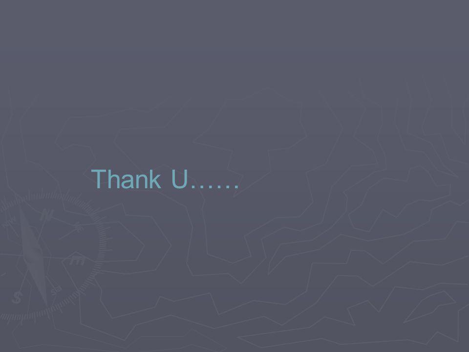 Thank U……