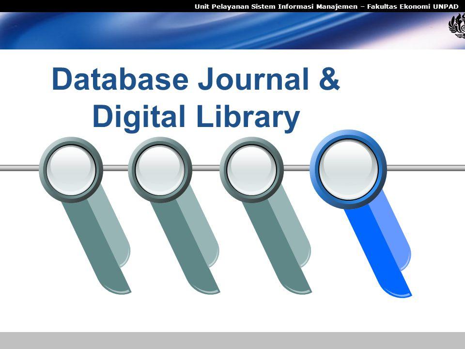 Database Journal & Digital Library