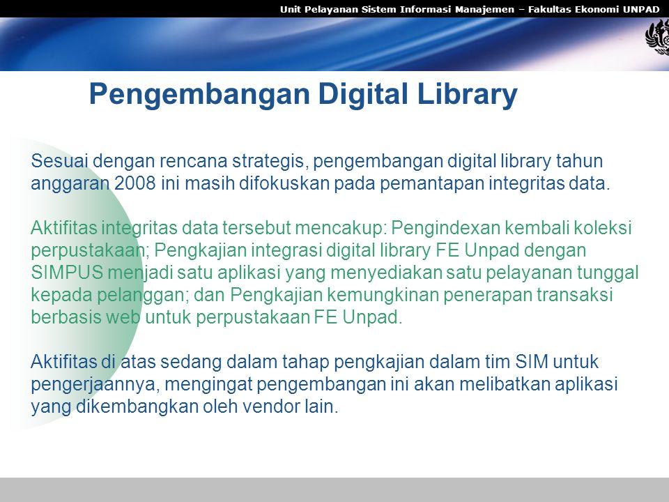 Pengembangan Digital Library