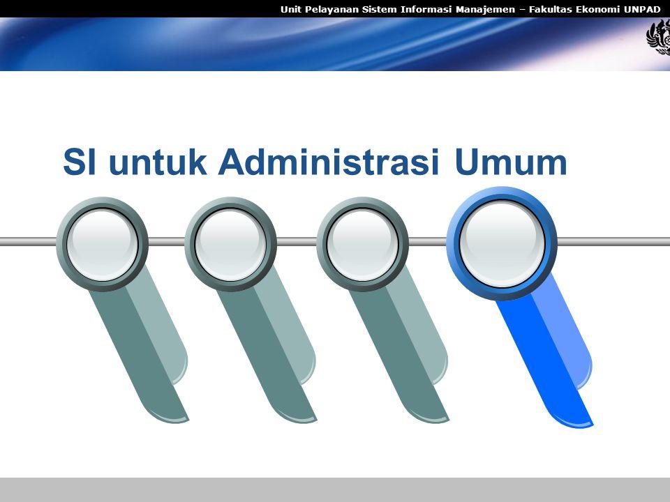 SI untuk Administrasi Umum