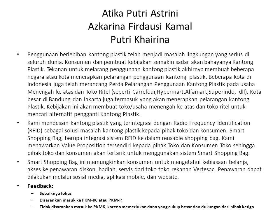 Atika Putri Astrini Azkarina Firdausi Kamal Putri Khairina