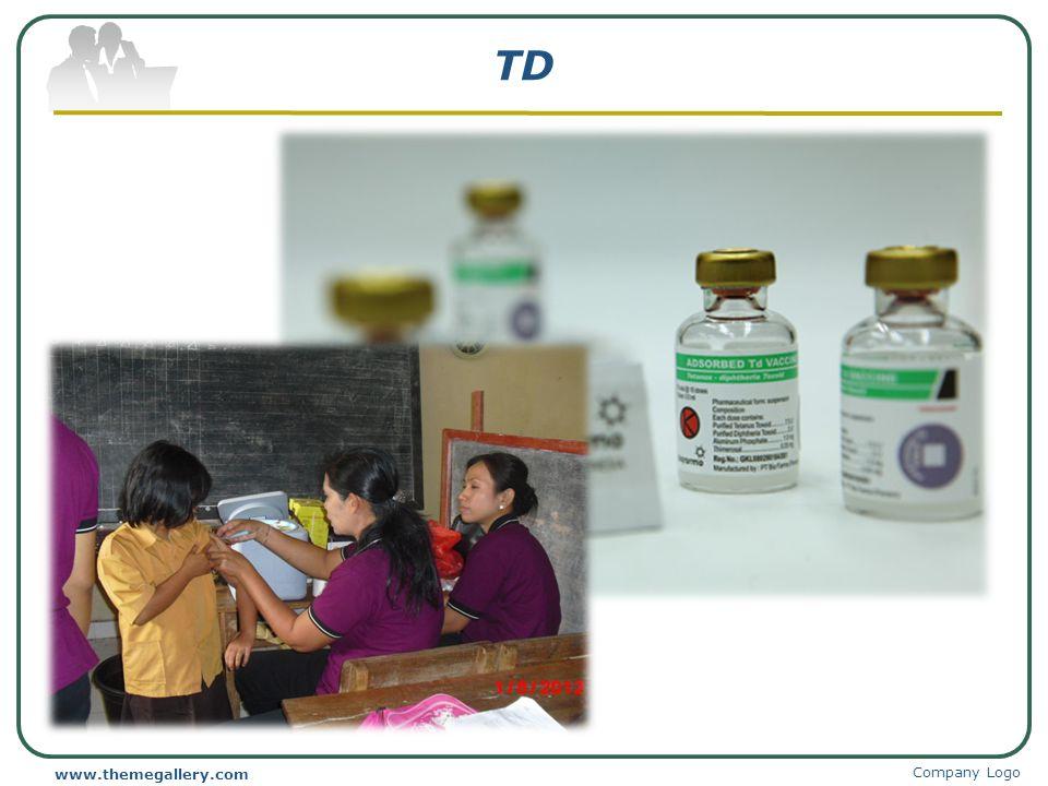 TD www.themegallery.com Company Logo