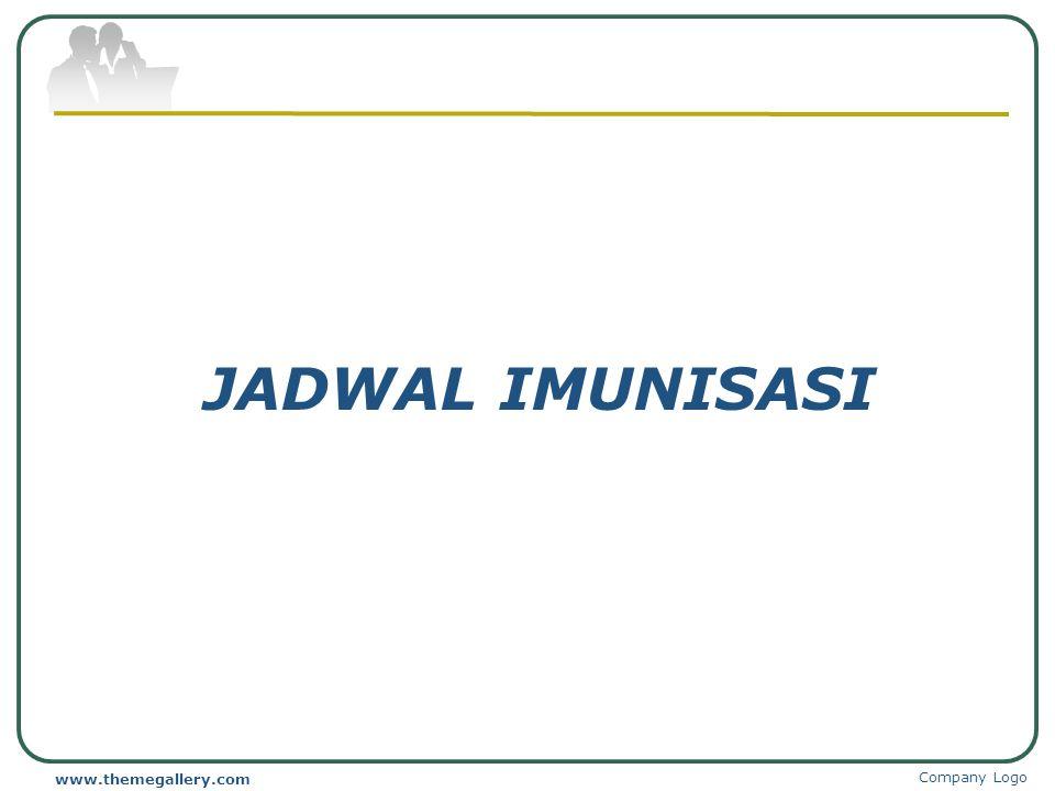 JADWAL IMUNISASI www.themegallery.com Company Logo