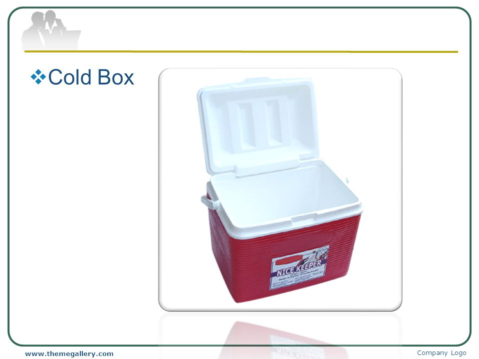 Cold Box www.themegallery.com Company Logo