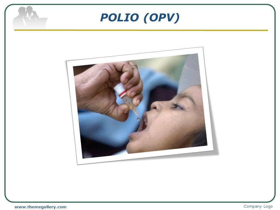 POLIO (OPV) www.themegallery.com Company Logo
