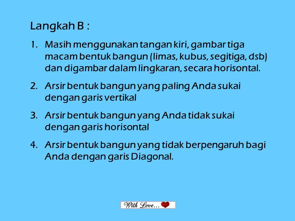 Langkah B :