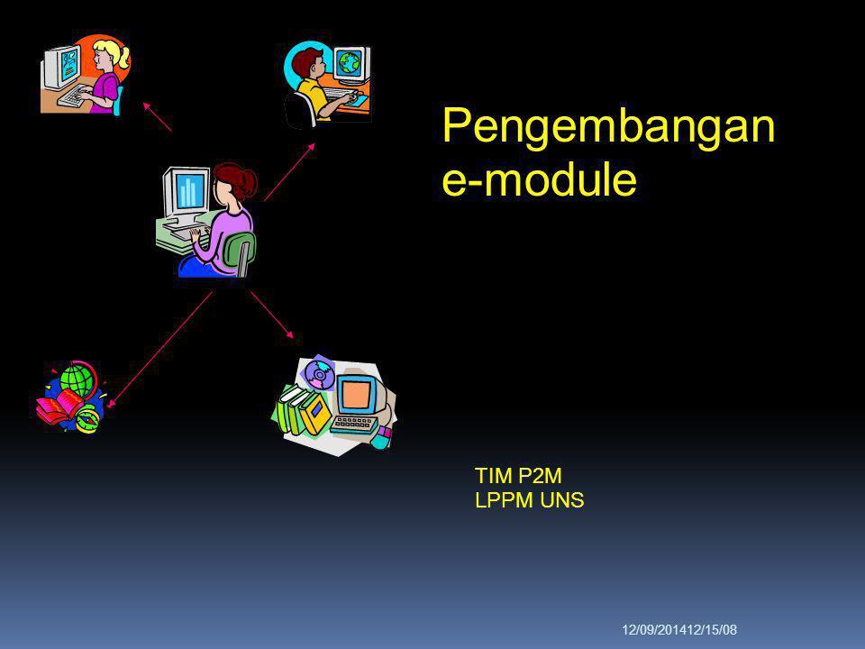 Pengembangan e-module