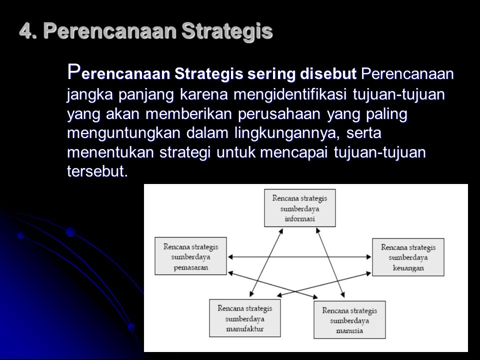 4. Perencanaan Strategis
