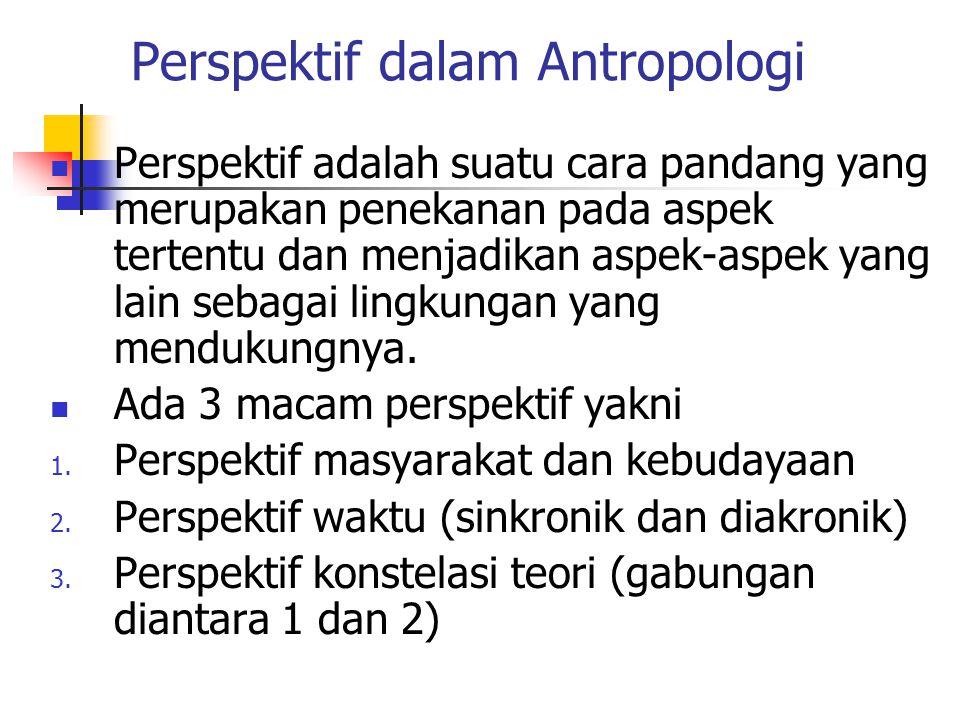 Perspektif dalam Antropologi