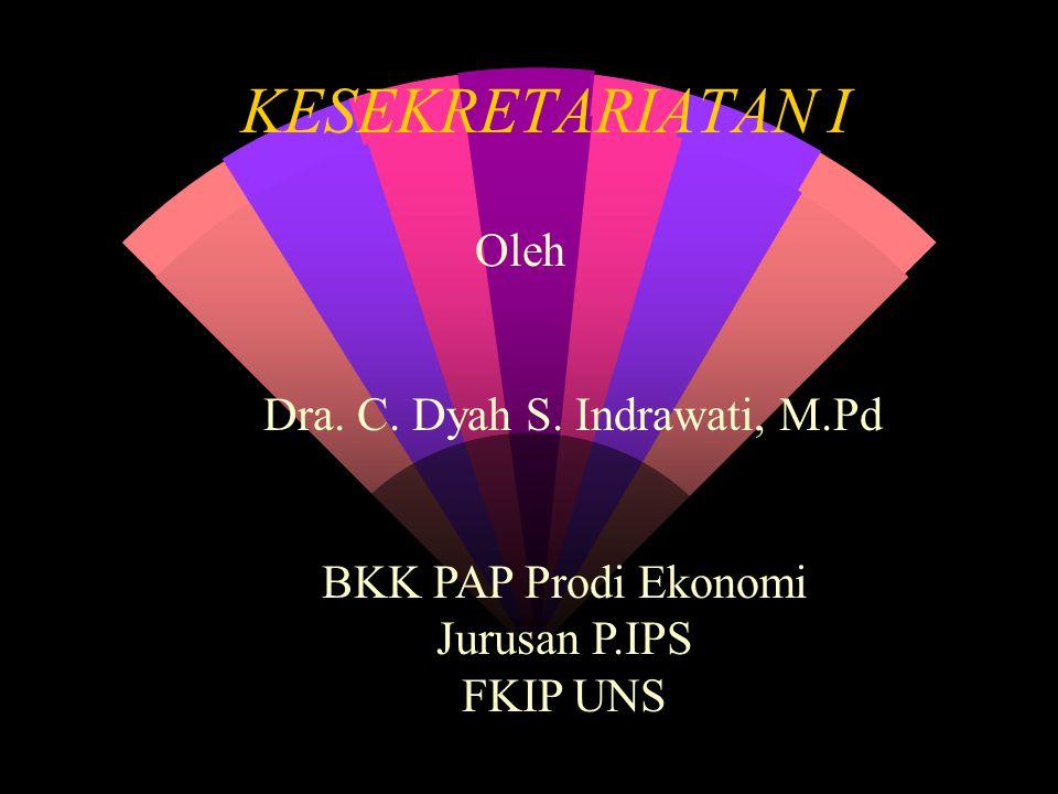 Dra. C. Dyah S. Indrawati, M.Pd