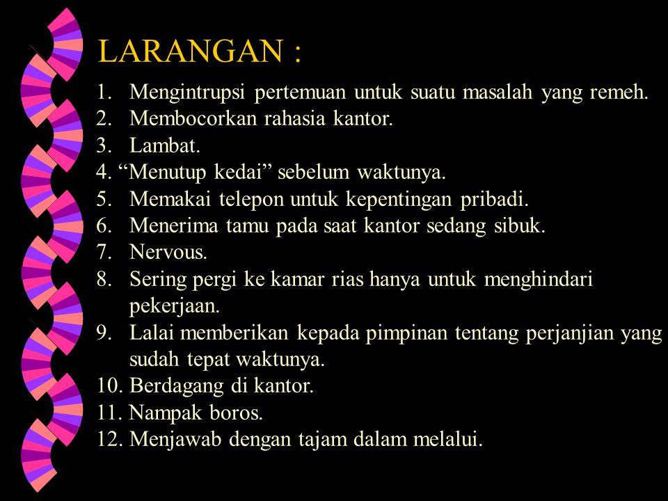 LARANGAN :