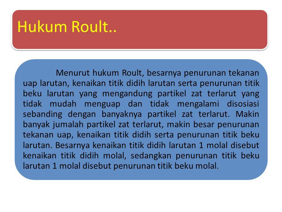 Hukum Roult..