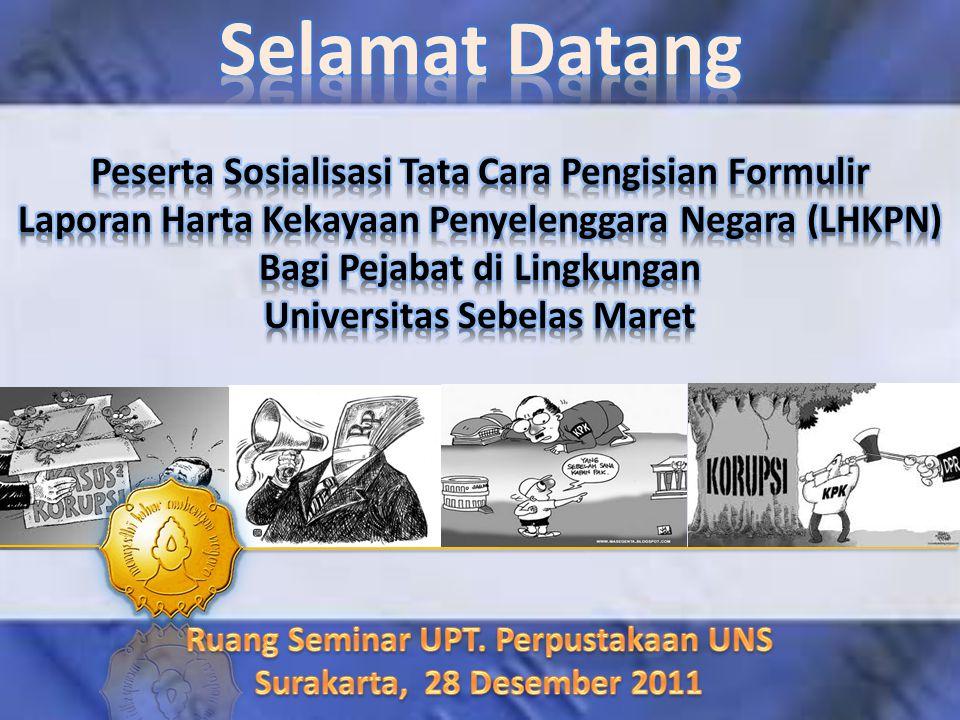 Ruang Seminar UPT. Perpustakaan UNS Surakarta, 28 Desember 2011