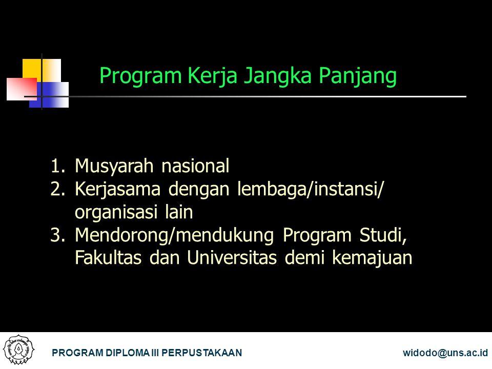Program Kerja Jangka Panjang