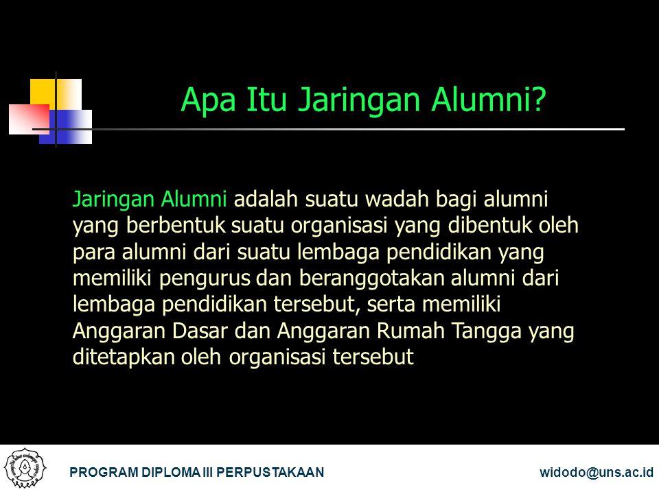 Apa Itu Jaringan Alumni