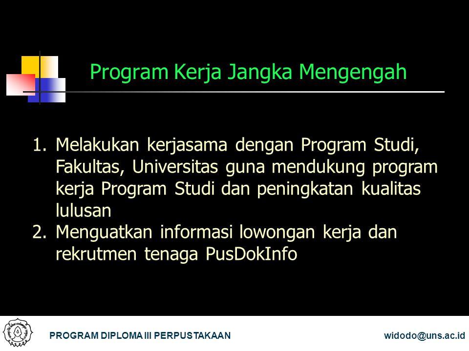 Program Kerja Jangka Mengengah