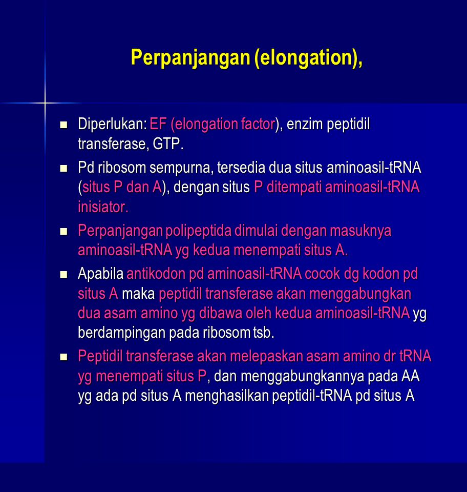 Perpanjangan (elongation),