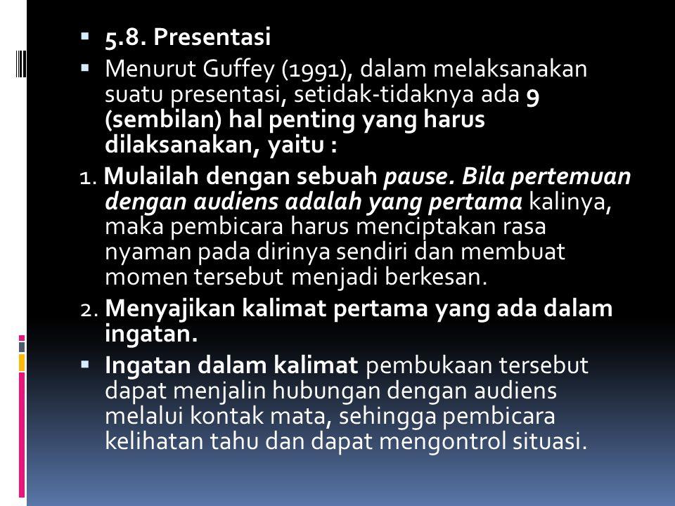 5.8. Presentasi