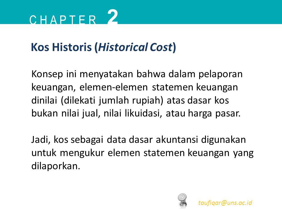 2 C h a p t e r Kos Historis (Historical Cost)