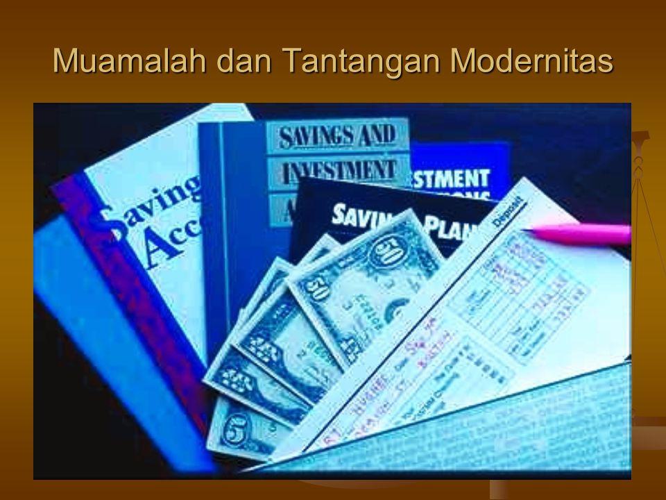 Muamalah dan Tantangan Modernitas