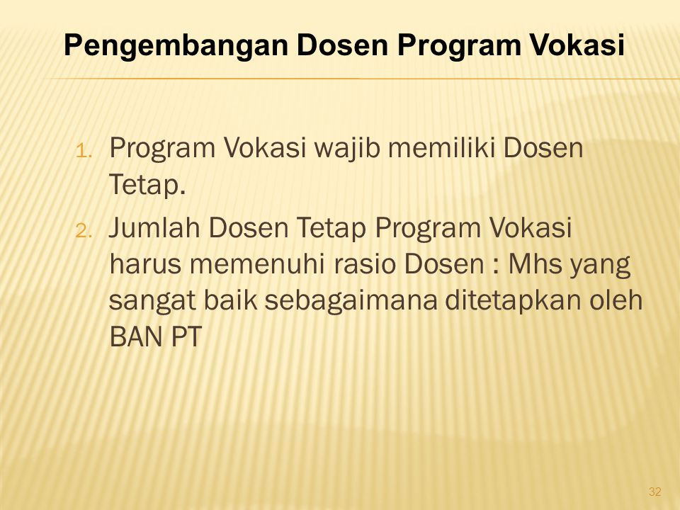 Pengembangan Dosen Program Vokasi