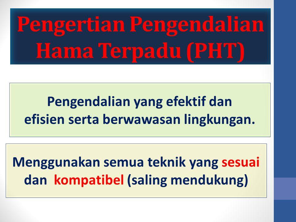 Pengertian Pengendalian Hama Terpadu (PHT)
