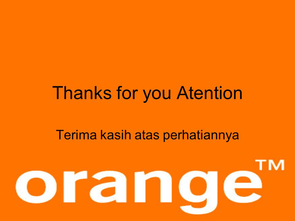 Thanks for you Atention
