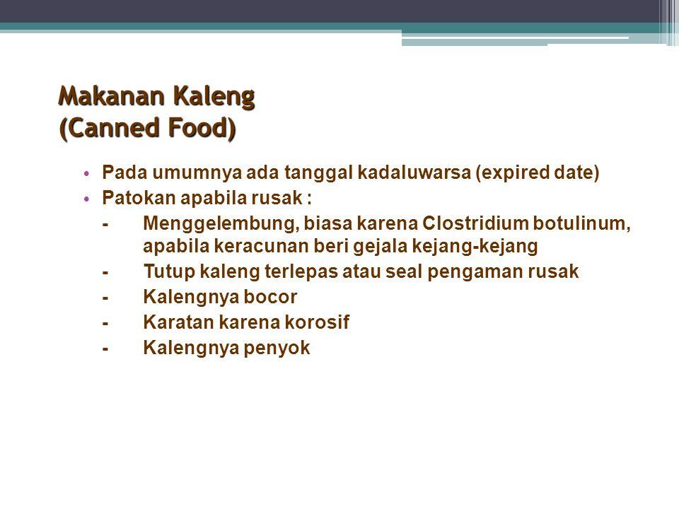 Makanan Kaleng (Canned Food)