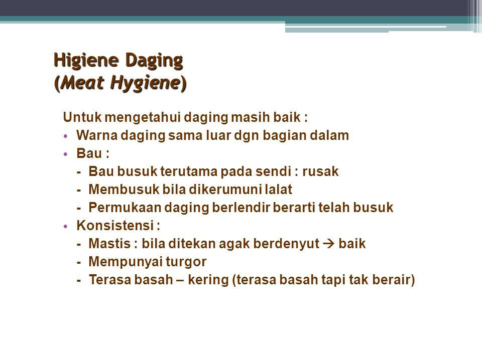 Higiene Daging (Meat Hygiene)
