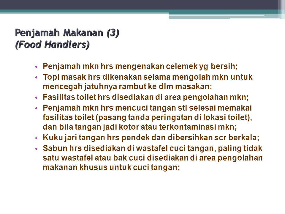 Penjamah Makanan (3) (Food Handlers)