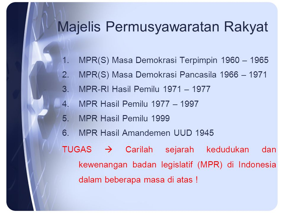 Majelis Permusyawaratan Rakyat