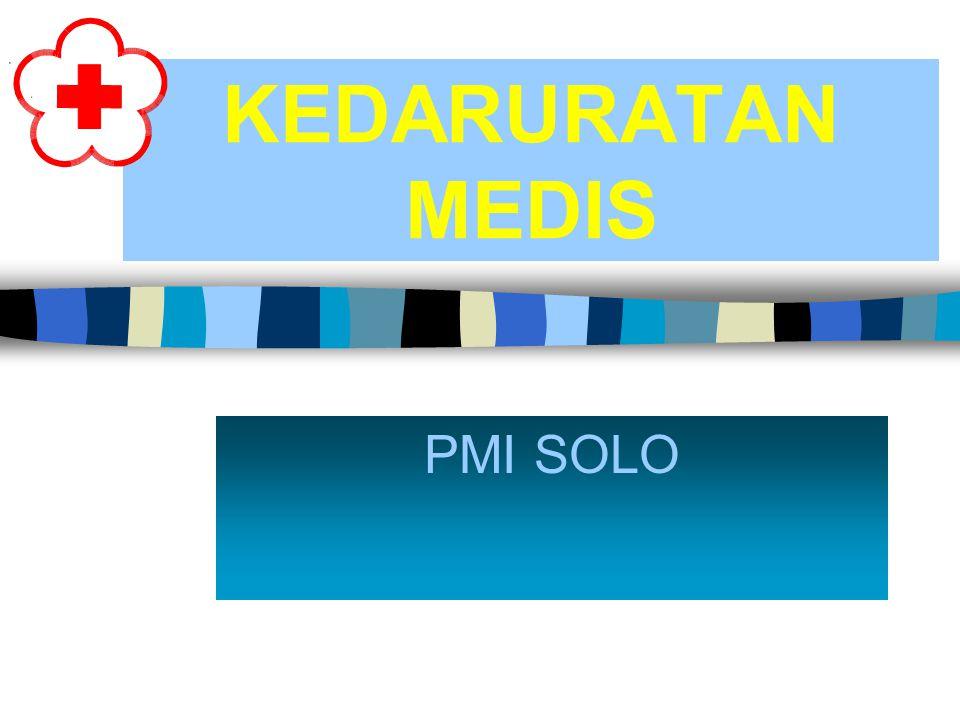 KEDARURATAN MEDIS PMI SOLO