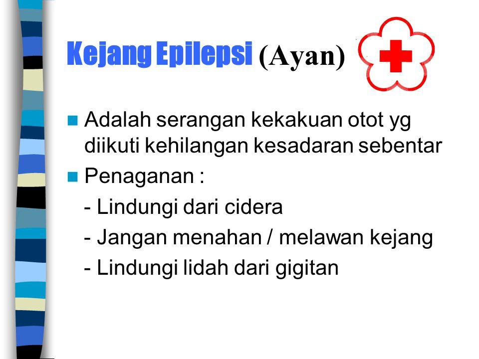 Kejang Epilepsi (Ayan)