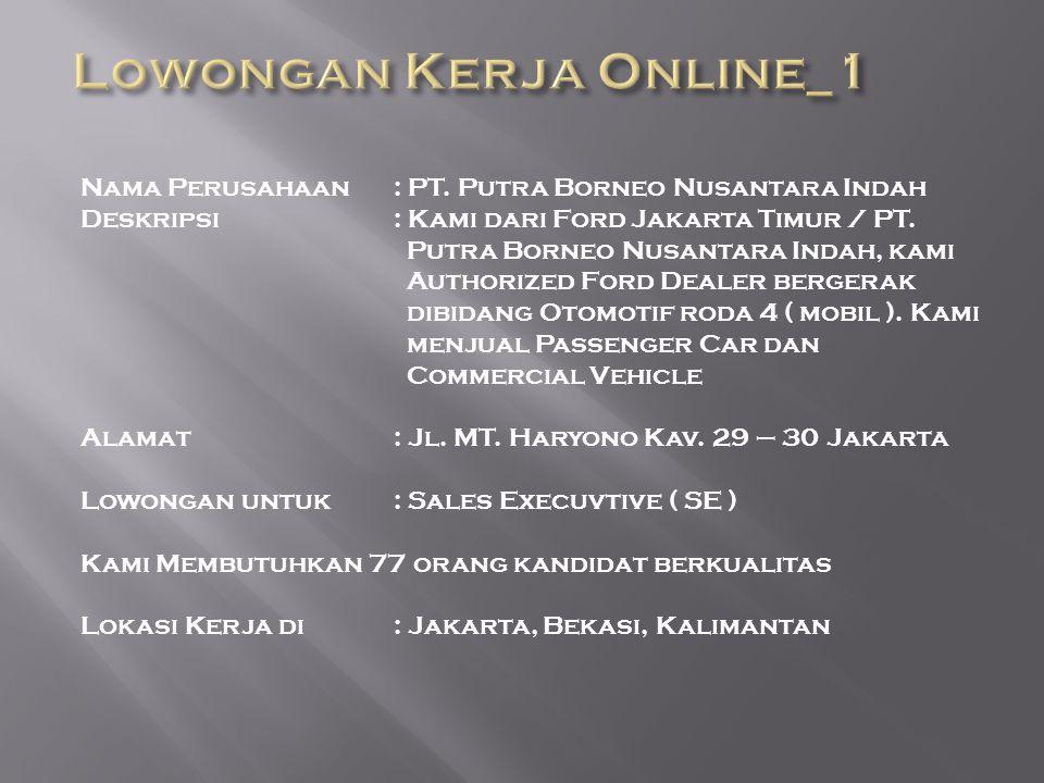 Lowongan Kerja Online_1