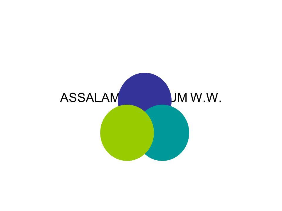 ASSALAMU ALAIKUM W.W. 1