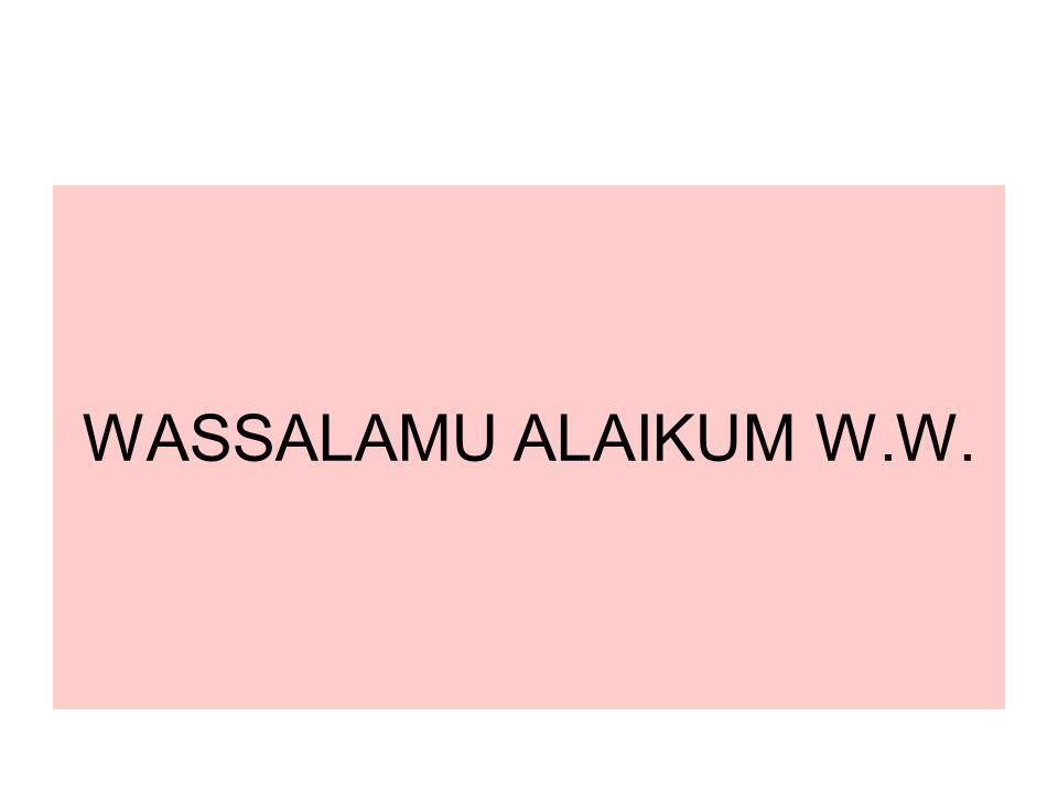 WASSALAMU ALAIKUM W.W. 44