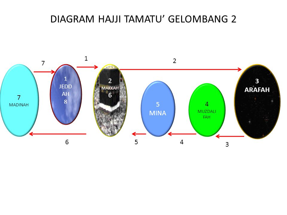DIAGRAM HAJJI TAMATU' GELOMBANG 2