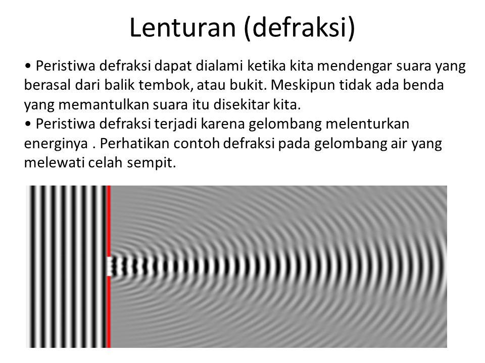 Lenturan (defraksi)