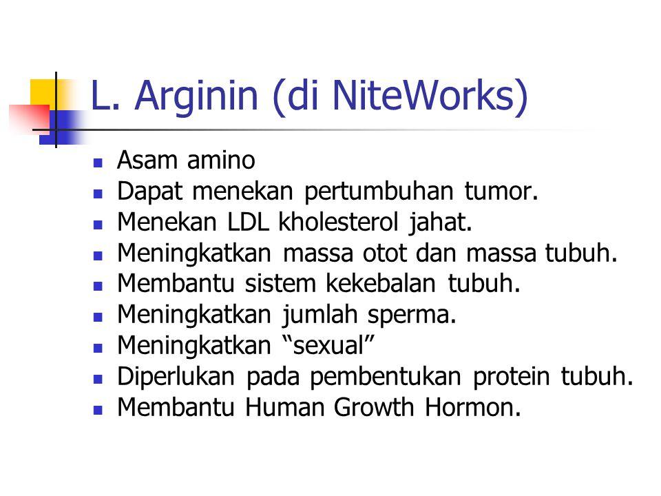 L. Arginin (di NiteWorks)