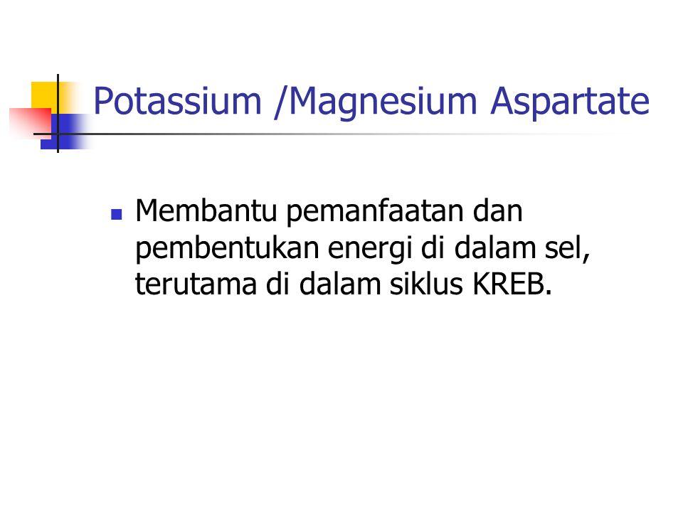 Potassium /Magnesium Aspartate