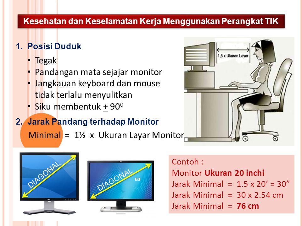 Kesehatan dan Keselamatan Kerja Menggunakan Perangkat TIK