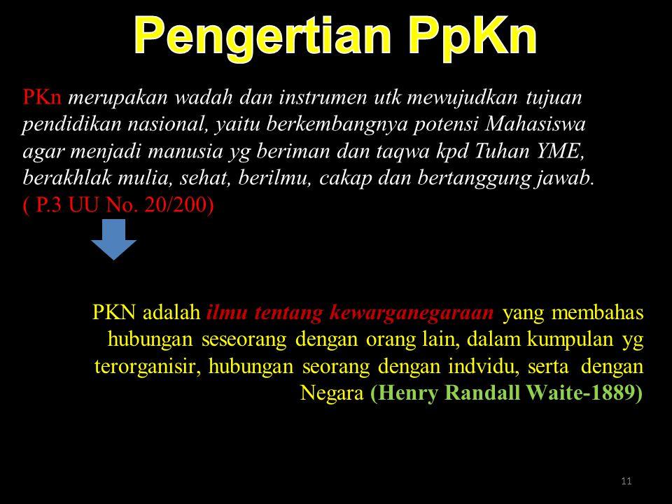 Pengertian PpKn