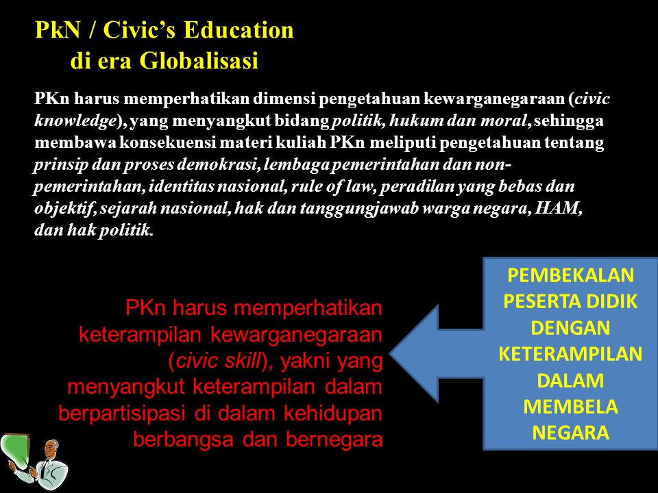PkN / Civic's Education di era Globalisasi