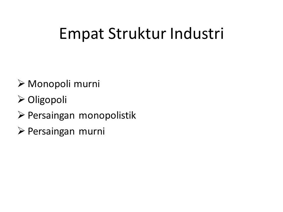 Empat Struktur Industri