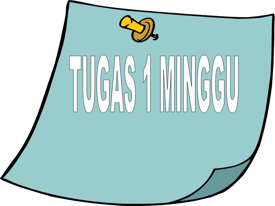TUGAS 1 MINGGU