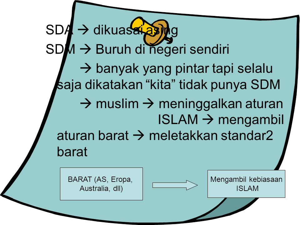 SDM  Buruh di negeri sendiri