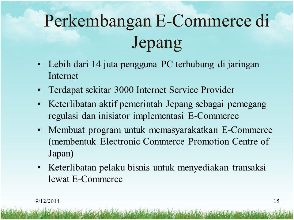 Perkembangan E-Commerce di Jepang