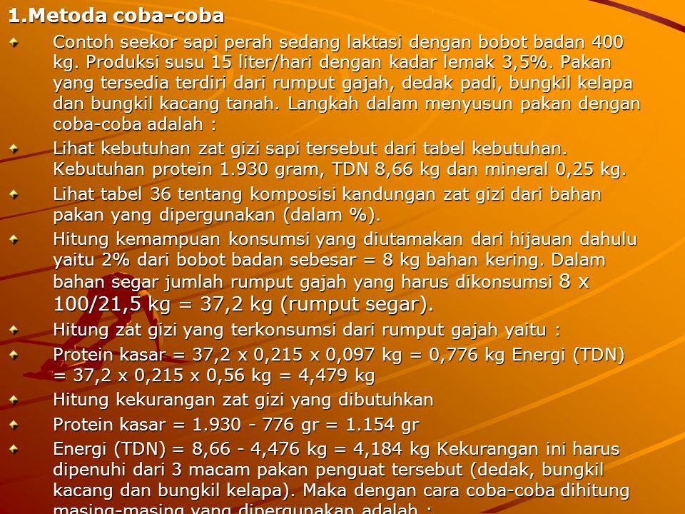 1.Metoda coba-coba